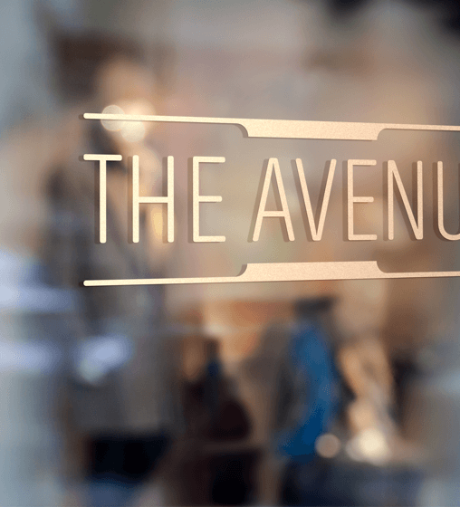 the avenue logo