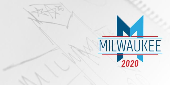 How we made the logo for the 2020 Democratic National Convention in Milwaukee