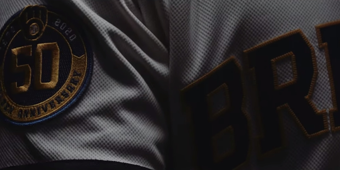 What does the new Milwaukee Brewers logo sound like?