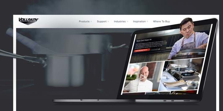 Announcing the brand new Vollrath Foodservice website!
